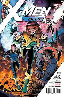 X-MEN BLUE #1 2017 MARVEL COMIC BOOK BEAST ICEMAN ANGEL JEAN GREY NEW MAGNETO (Xmen Blue Beast)