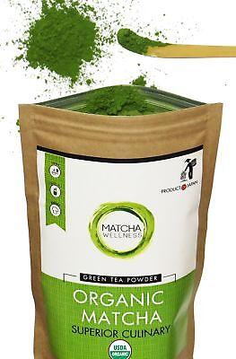 Matcha Green Tea Powder   Superior Culinary   Usda Organic From Japan  Natura