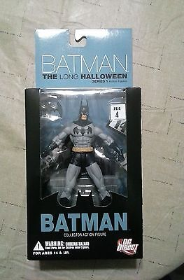 DC Direct Batman Long Halloween Series 1: Batman Action Figure NIB    HMCSF ()