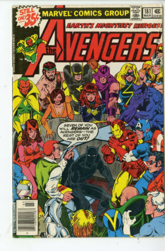 Avengers #181 1st appearance of Scott Lang Marvel