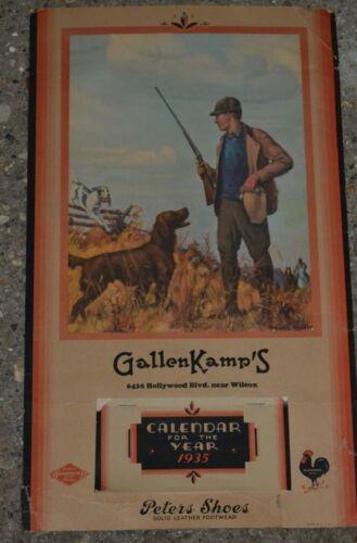 Vintage 1935 Gallen Kamps