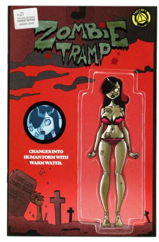 ZOMBIE TRAMP #21 ACTION FIGURE VARIANT COVER