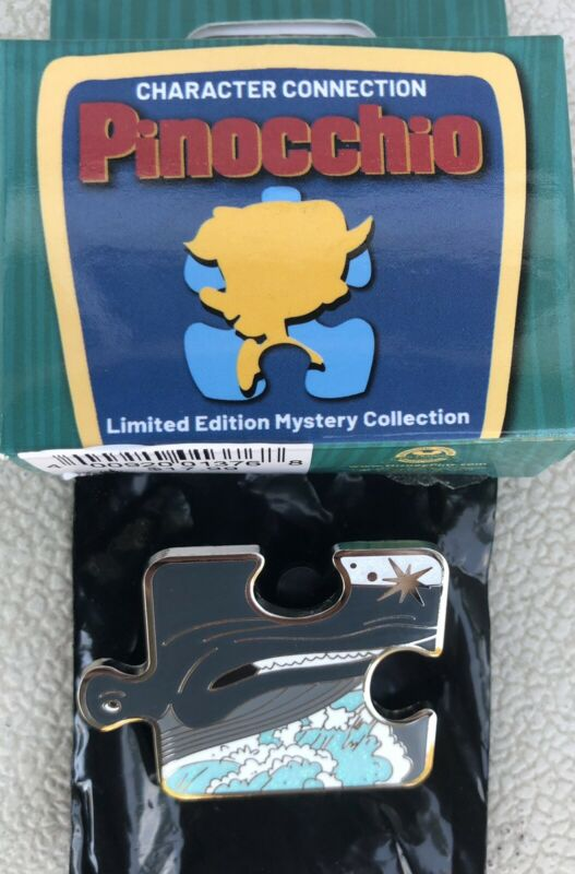 Monstro the Whale of Pinocchio Character Connection Puzzle LE 900 Disney Pin