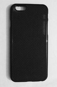TPU Black Silicone Cross-Stitch Case DIY For iPhone 6 & iPhone 6S