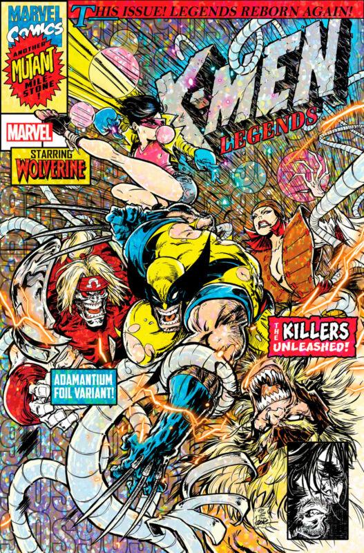 X-MEN LEGENDS 9 NM ANDREWS VARIANT 9/23 2021 PRESALE