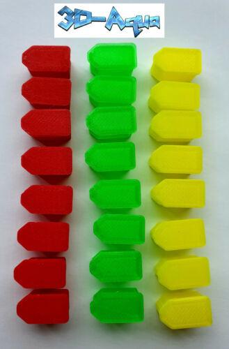 XT30 / XT60 / XT90 Li-Po Caps x24 / 16 3D Printed in TPU FPV RC