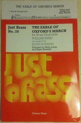Earle of Oxford's Marche - Byrd / arr. Howarth - Brass Choir - Brass Sheet Music