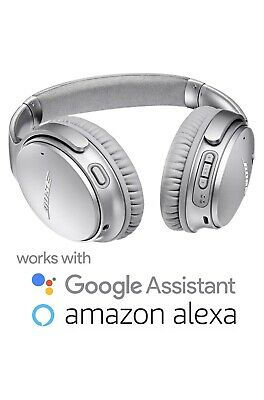 BOSE QUIETCOMFORT QC35 II SILVER WIRELESS NOISE CANCELLING HEADPHONES $349