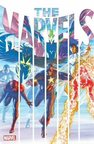 THE MARVELS 1 1A Main Alex Ross Cover Busiek Cinar NEW 2021