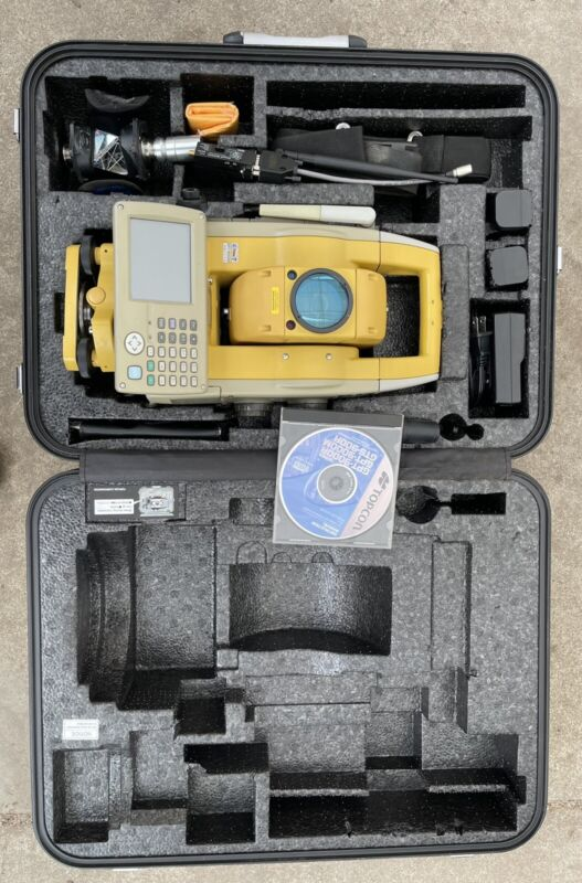 """Topcon GPT-9003A 3"""" Robotic Total Station"""