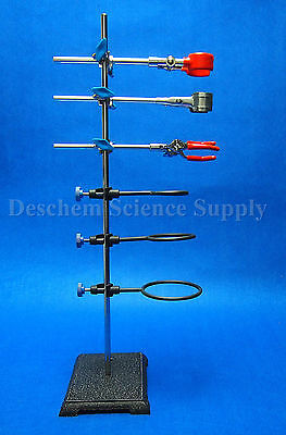 Laboratory Standssupport And Lab Clampflask Clampcondenser Clampstands600mm