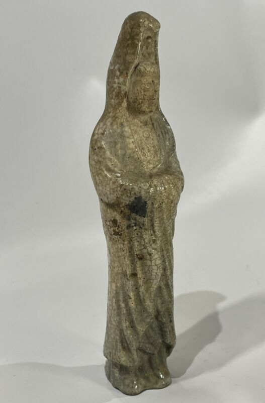 Antique Ming Dynasty or Later Kwan Yin Tomb Figurine