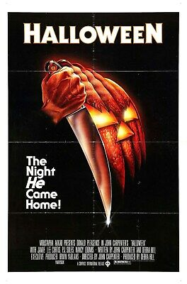 US SELLER, funky home decor halloween 1  horror sci-fi movie poster - Funky Halloween Decorations