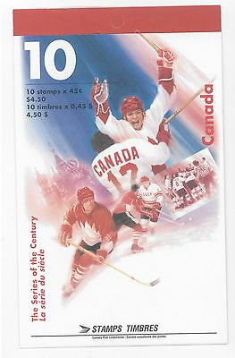 Canada 1997 The Series of the Century # 1660 A Booklet BK201 MNH
