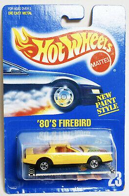 Hot Wheels | 80s Firebird | #23 Blue Card | RARE Black Tail lights