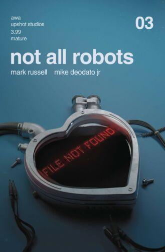 Not All Robots #3 Cover A Rahzzah AWA Upshot Comic 1st Print 2021 unread VF
