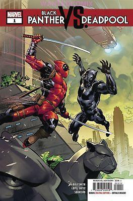 BLACK PANTHER VS DEADPOOL #1 (OF 5) OCT 2018 MARVEL COMIC BOOK NEW VIBRANIUM (Deadpool Comic 1)