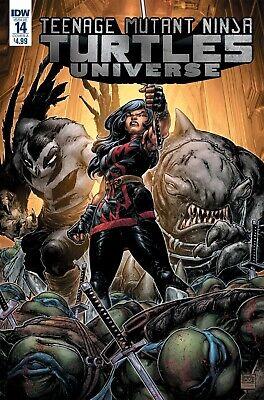 Teenage Mutant Ninja Turtles Universe #15 Comic 2017 - IDW Comics Michelangelo
