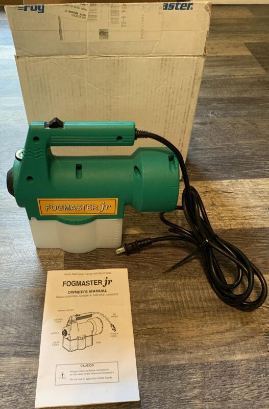 New Fogmaster Jr. Electric Fogger Model 533010CA Free SH