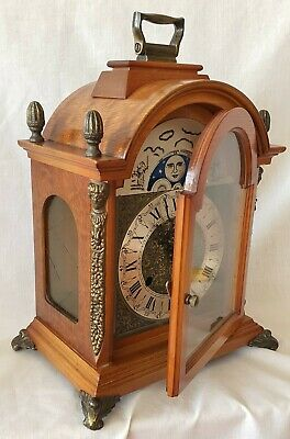 /'Made in England/' Bracket clock Antique clock hands from original design BC6