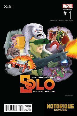 Solo #1 Hip Hop Variant Marvel Comic Book  1st Print NM Solo Hip Hop