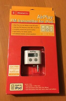 (New XtremeMac Air Play FM Transmitter for iPod)
