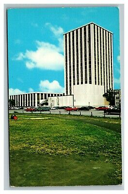 Vintage 1960's Postcard Loyola University Mertz Hall Chicago Illinois