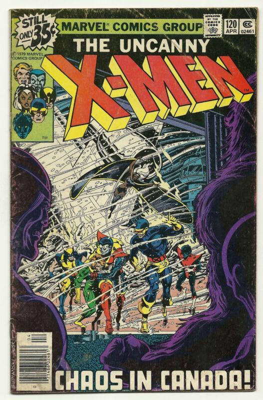 Uncanny X-Men 1979 #120 Fine 1st Alpha Flight