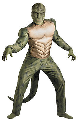 Lizard Classic Muscle Adult Mens Costume Curtis Connors Spiderman Villain Marvel