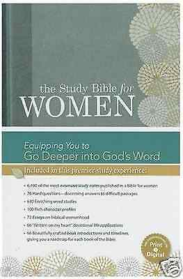 The Study Bible For Women  Hardcover Hcsb  2014  Hardcover  Brand New