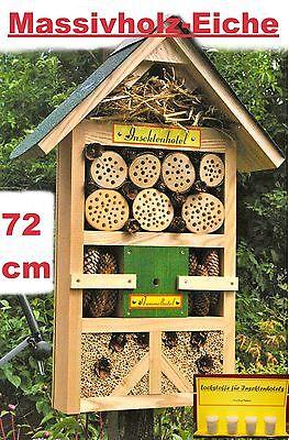 Insektenhotel XXL►Hummelhotel►viele Insektenarten►mit Lockstoffen►Nisthilfe►Grün