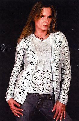 Lace Twin Set - Karabella Yarns Knitting Pattern KK492 - Women 32