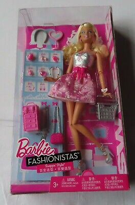 Barbie Fashionistas Swappin Style - Sweetie Doll - ASST V6935 - V3275