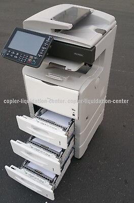 Ricoh Aficio Sp 5210sf Copier Color Scanner Printer Fax.