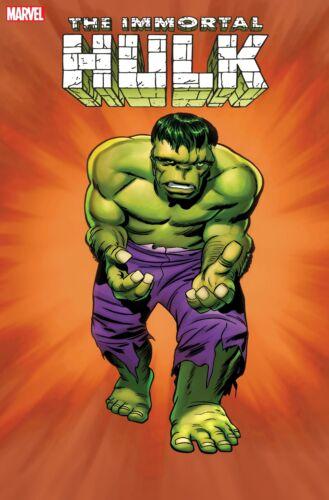 Immortal Hulk #50 - 1:100 Kirby Hidden Gem Variant - Presale (10/13/2021)