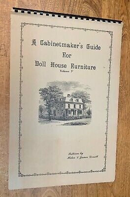 """Crafts, """"Cabinet Maker's Guide Doll House Furniture"""", Volume V, For 1890-1915 for sale  Shipping to Nigeria"""