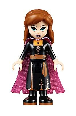 Lego Disney Princess MiniFigure ANNA Black Dress 41164 41165 Frozen 2 New