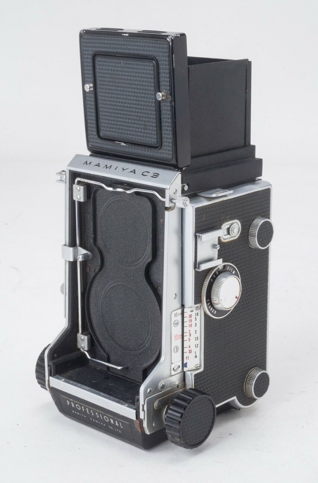 MAMIYA C3 PROFESSIONAL Camera TLR Body Only EXC COND  - $225.00
