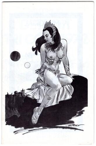 nice 1972 Detroit Tri-Con Comic Convention Program GRAY MORROW Lin Carter TAYLOR