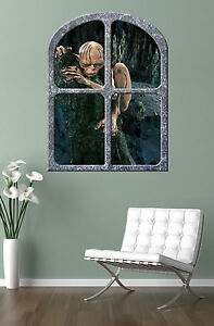 the-HOBBIT-GOLLUM-GIANT-WINDOW-VIEW-PRINTED-POSTER