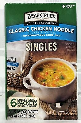 Bear Creek Country Kitchens Classic Chicken Noodle Soup Singles 7.6 oz  Classic Chicken Noodle Soup