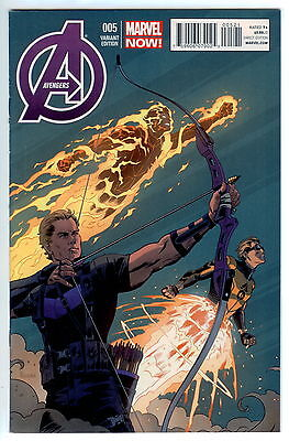 AVENGERS # 5 (PAULO RIVERA 1:50 ARCHER VARIANT COVER, APR 2013) VF- (Avengers Archer)