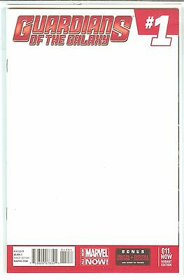 Guardians of the Galaxy #1 Marvel Now! Blank Variant NM