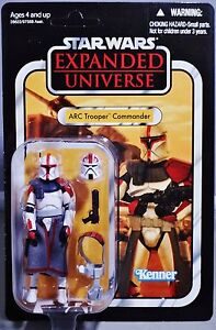 STAR WARS VINTAGE: ARC TROOPER COMMANDER (FORDO) - VC54 UNPUNCHED