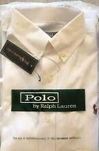 MENS RALPH LAUREN LONG SLEEVE SHIRT - SIZE S - WHITE Double Bay Eastern Suburbs Preview