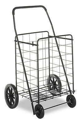 Whitmor Deluxe Utility Cart Extra Large Black