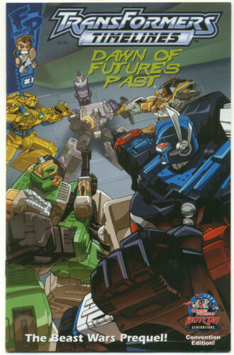 Transformers Timelines #1 Dawn of Future Past Beast Wars Prequel BotCon Edition