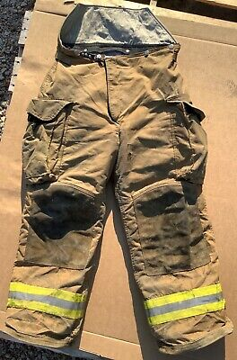 Janesville Turnout Bunker Pants Fire Fighting Firefighter Lion Gear 36r