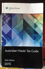 Australian Master Tax Guide 56th Edition 2015 Fairfield Fairfield Area Preview