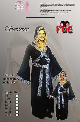 OF DARK SORCERY HALLOWEEN LADIES FANCY DRESS COSTUME (Siren Halloween-kostüm)